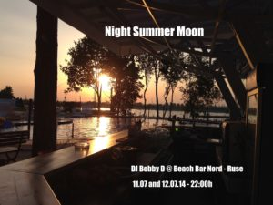 Night Summer Moon @ Beach Bar Nord